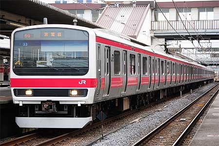 京葉線で209系500番台が営業運転を開始