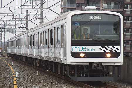 「MUE-Train」が宇都宮線と日光線で試運転