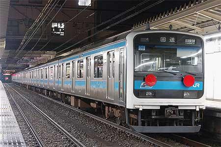 209系8両が仙台車両センターへ