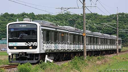 「MUE-Train」,宇都宮線・日光線で試運転