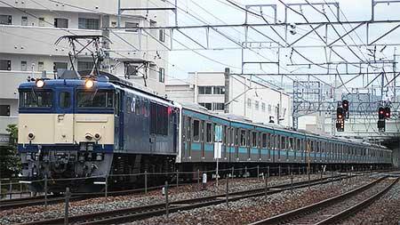 ウラ34編成,長野総合車両センターへ配給輸送