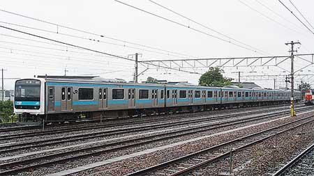 ウラ32編成,北長野駅に留置される