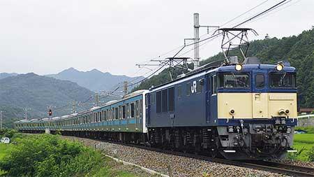 ウラ50編成,長野総合車両センターへ配給輸送
