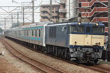 ウラ65編成,長野総合車両センターへ配給輸送