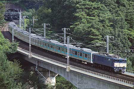 ウラ58編成,長野総合車両センターへ配給輸送