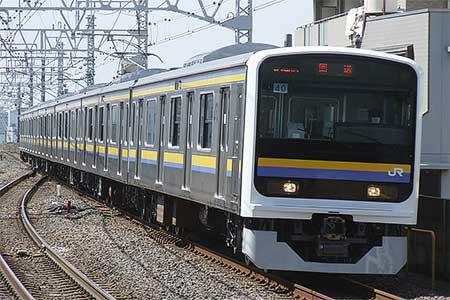 209系2100番台が東京総合車両センターから出場