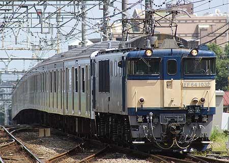 ウラ55編成,長野総合車両センターへ配給輸送