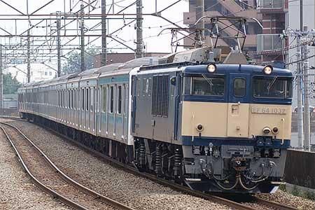 ウラ56編成,長野総合車両センターへ配給輸送