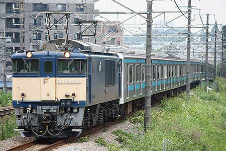 ウラ53編成,長野総合車両センターへ配給輸送