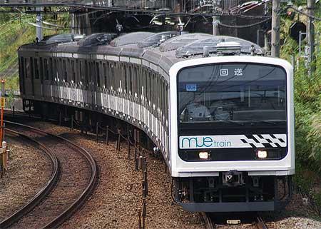 「MUE-Train」,川越車両センターへ