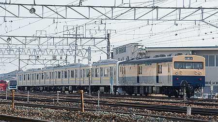 209系2100番台4両が長野総合車両センターから出場