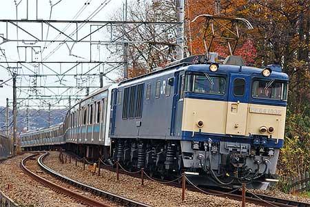 ウラ62編成,長野総合車両センターへ配給輸送