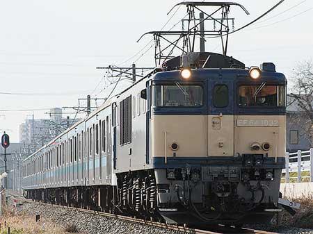 209系8両が直江津へ