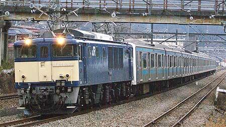 ウラ66編成,長野総合車両センターへ配給輸送