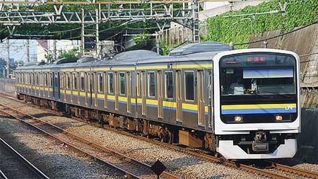 209系マリC603編成が武蔵野線で試運転