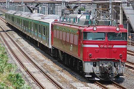 もとウラ48編成が東京総合車両センターへ入場