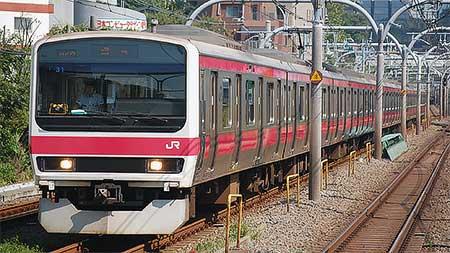 209系500番台ケヨ31編成が東京総合車両センターへ