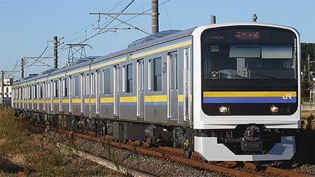 209系,総武本線・成田線での運用を本格的に開始