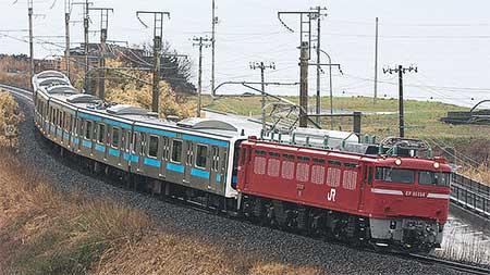 もとウラ69編成6両が秋田総合車両センターへ