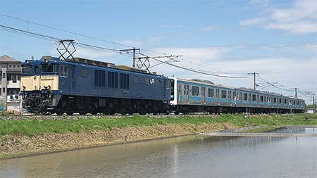 もとウラ18・63編成の4両が長野総合車両センターへ