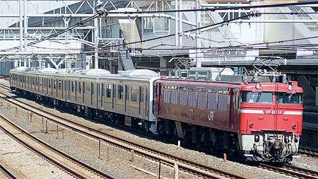 209系2100番台最終編成出場