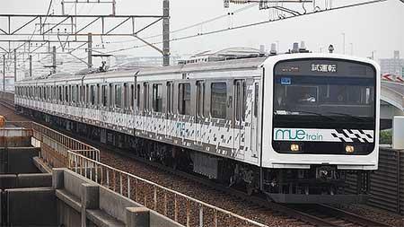 「MUE-Train」が京葉線に入線