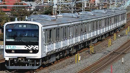 「MUE-Train」が川越車両センターに戻る