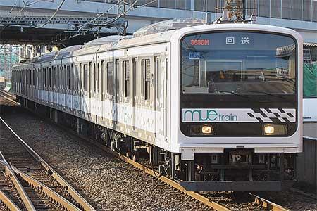 「MUE-Train」が川越車両センターへ戻る