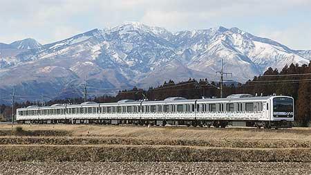 「MUE-Train」が日光線で試運転