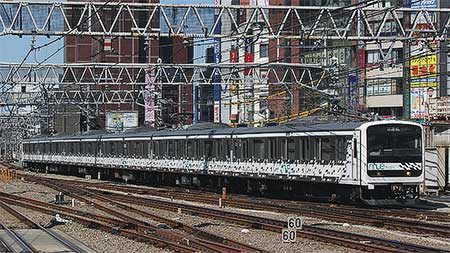 「MUE-Train」が埼京線・山手貨物線で試運転