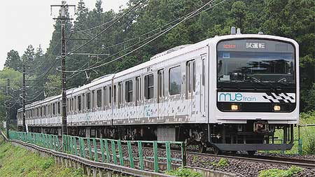 「MUE-Train」が五日市線で試運転