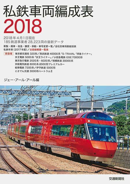 私鉄車両編成表 2018