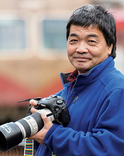 鉄道写真家 小賀野実