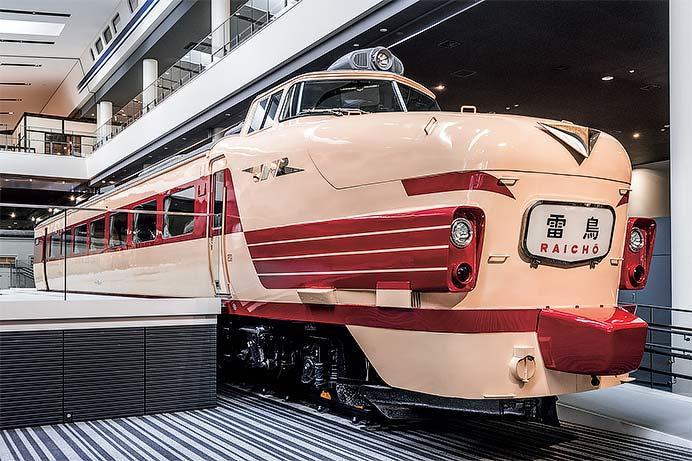 京都鉄道博物館で489系クハ489-1の車内公開