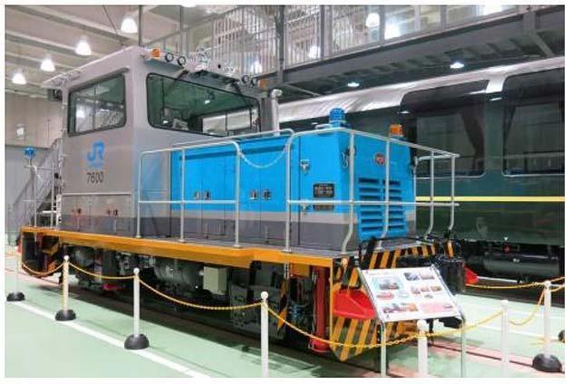 京都鉄道博物館で「軌道モータカー」展示
