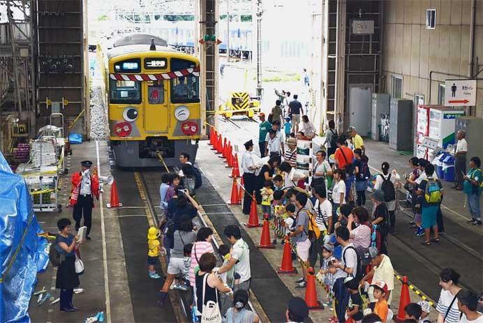 8月19日 西武「南入曽車両基地 電車夏まつり 2017」開催