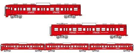 しなの鉄道『「コカ・コーラ」レッドカラーの115系車両実現』プロジェクト実施中