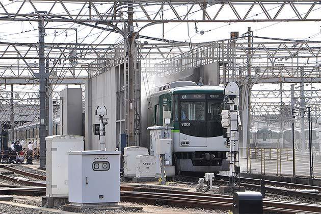 京阪寝屋川車両基地で「ファミリーレールフェア2017」開催