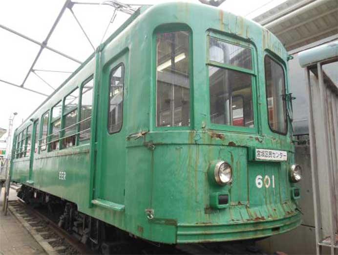 世田谷区「旧玉電車両の補修整備」プロジェクト実施中
