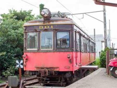 銚子電鉄『「デハ801を往年の姿に!」車両修復プロジェクト 完成車輛お披露目式』開催