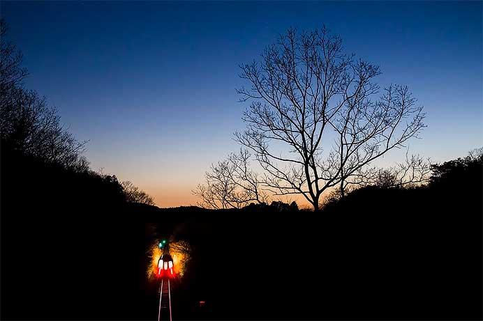 仲井裕一写真展「凄艶~輝く鉄路~」開催