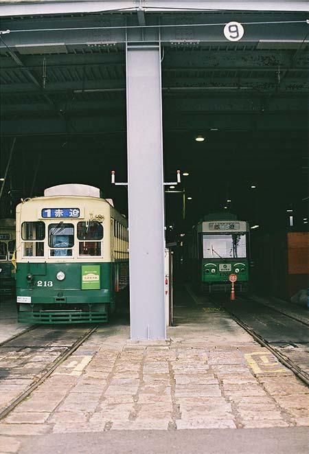 長崎電気軌道浦上車庫で「みんなの電車撮影会」開催