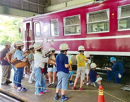 「京都丹後鉄道 福知山運転所(車両基地)特別見学」ツアー開催