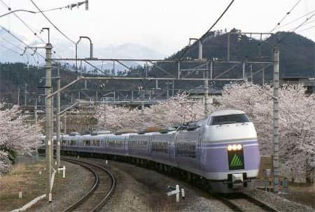 専用臨時列車「ありがとうE351系」運転