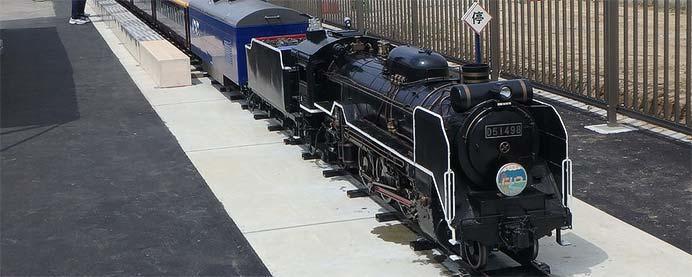 新津鉄道資料館で「ミニSL乗車体験」開催