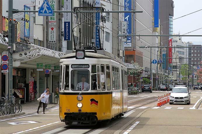 福井鉄道,もとドイツ製車両「レトラム」を運転