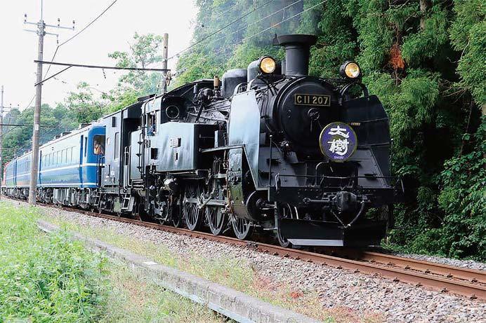 東武「SL大樹 運行開始1周年記念フォトコンテスト2018」作品募集