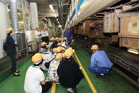 「小田急リコチャレ鉄道技術教室」のイメージ