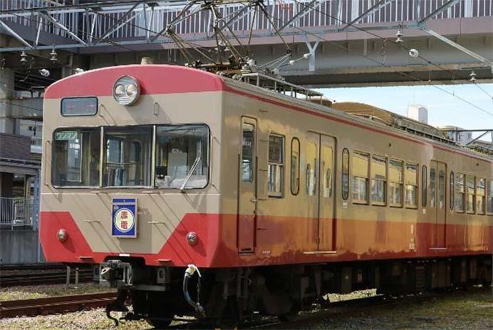 近江鉄道で開業120周年「記念特別電車」運行