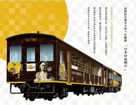 JR四国「夕焼けビールトロッコ列車」の参加者募集